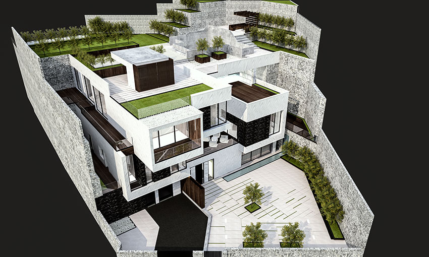 villa design lavasan