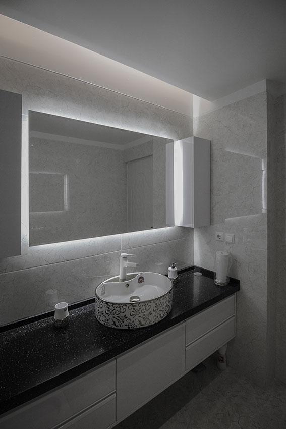 Interior apartment design