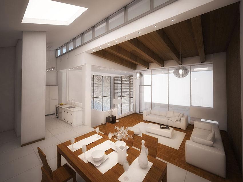 طراحی داخلی ویلا مشا
