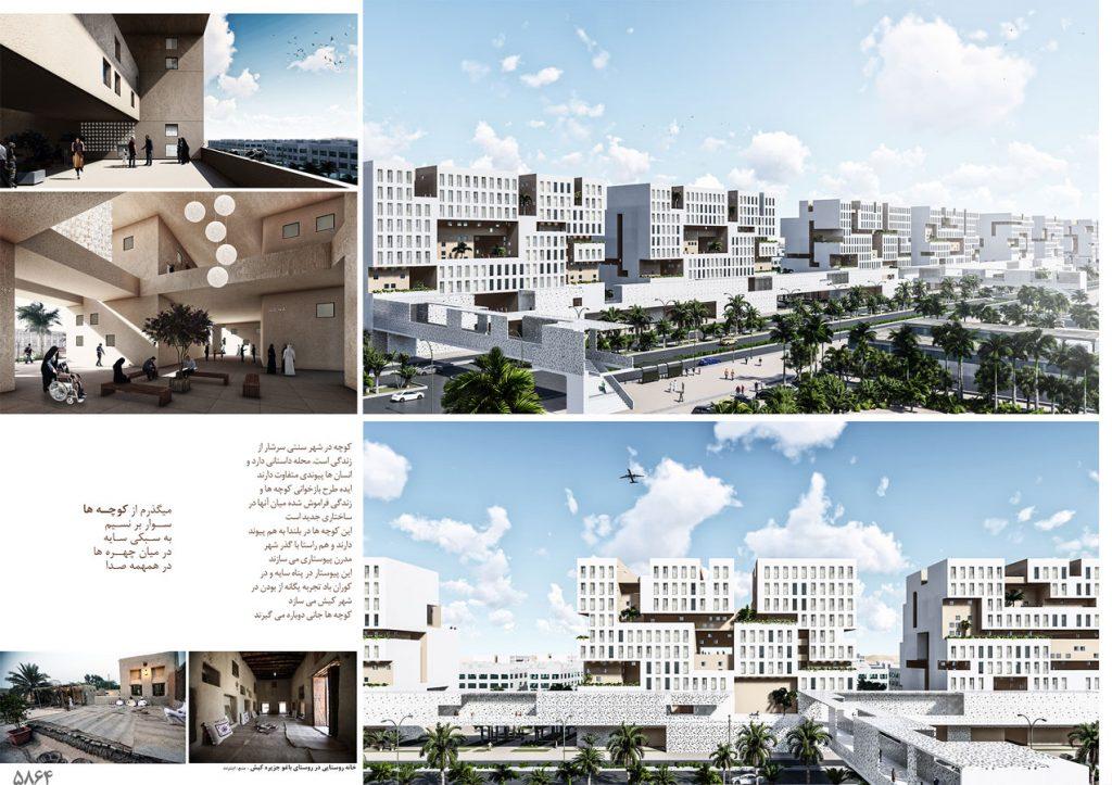Urban Design Of Kish