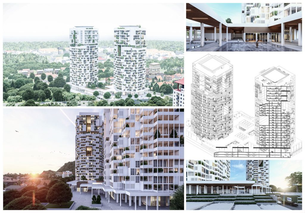 The Architecture Of Residential Tower