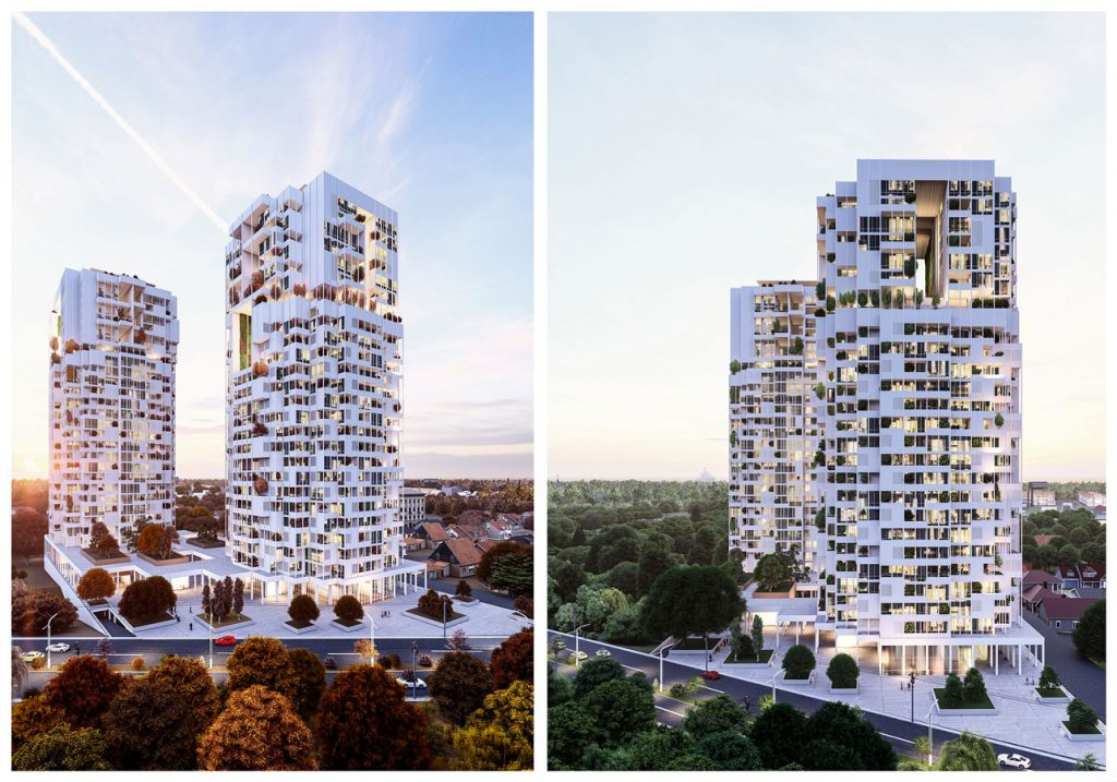 Design Of The Luxury Tower